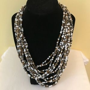 Jewelry - Beaded Multi Stand Necklace